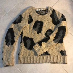 Anthropologie Sleeping on Snow Sweater, S